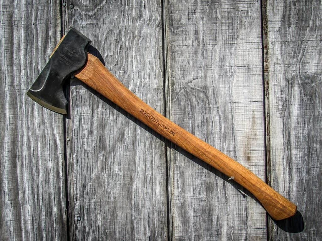 Woodcraft pack axe 19 inches
